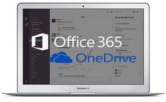 PC med office 365 og onedrive
